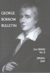 Cover of the current George Borrow Bulletin